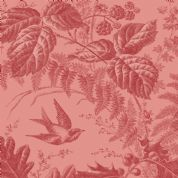 Braveheart by Makower UK - 6633 - Hedgerow Floral on Dusky Pink - 9174_RE - Cotton Fabric